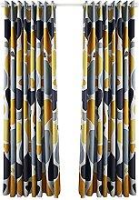 Prosperveil Modern Pebble Pattern Blackout Curtain
