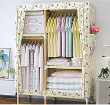 Protable Not-woven Cloth Wardrobe, Assembled