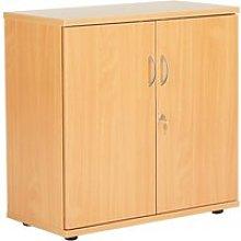 Proteus Double Door Cupboard, Grey Oak
