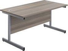 Proteus I Rectangular Desk, 120wx80dx73h (cm),