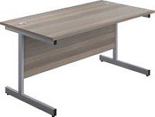 Proteus I Rectangular Desk, 160wx80dx73h (cm),