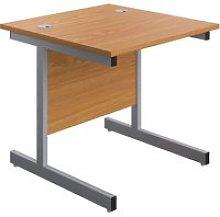 Proteus I Rectangular Desk, 80wx80dx73h (cm),