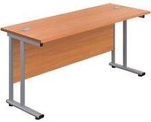 Proteus II Rectangular Desk, 140wx80dx73h (cm),
