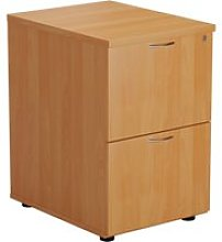 Proteus Wooden Filing Cabinet, Beech, Free Express