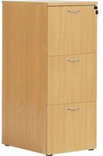 Proteus Wooden Filing Cabinet, Beech, Free