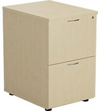 Proteus Wooden Filing Cabinet, Maple