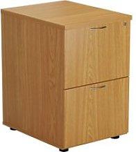 Proteus Wooden Filing Cabinet, Oak