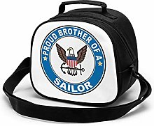 Proud Brother of a Sailor U.S. Navy Round