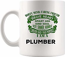 Proud Plumber Coffee Mug Cup Mugs Friend