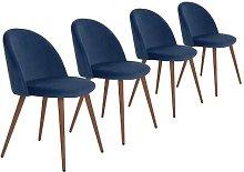 Pruitt Upholstered Dining Chair Mikado Living