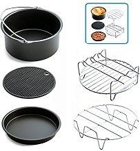 PRXD 5 Piece Air Fryer Accessories Pack Kitchen