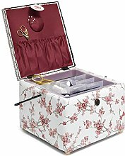 Prym 612057 Sewing Basket Large Square Cherry