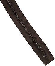 Prym Dark Brown 60cm Fastener with 2-Way Zip