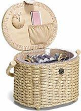 Prym Sewing Basket M Meadow, Multicoloured, One