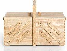 Prym Sewing Basket, Wood, Beige, Brown, L