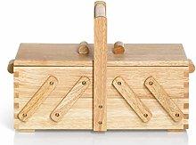 Prym Sewing Basket, Wood, Beige, Brown, S
