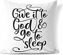 InterestPrint Body Pillow Cover Christ