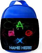 PS Gamer Lunch Bag Kids School Personalised