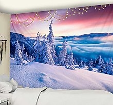 Psychedelic Scene Wall Tapestry Christmas
