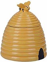 PT Honeybee Beehive Ceramic Cookie Storage Jar