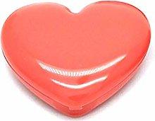 PT-KMKMING 1 Pc Lipstick Case, Cosmetic Box, Heart