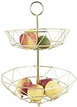 PT Living Fruit Basket Diamond Cut 2 Layers Iron