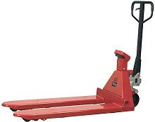 PT1150SC Pallet Truck with Scales - 2000kg Capacity 1150 x 555mm - Sealey