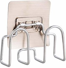 PTY Pot Lid Rack Wall Mounted Stainless Steel Pot