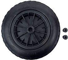 Durable tool PU 16 Puncture Proof RED Wheelbarrow Wheel Tyre 4.80-8 foam filled AXLE