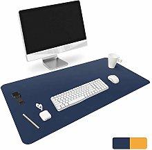 Pu Leather Desk Blotter, Office Desk Mat Writing