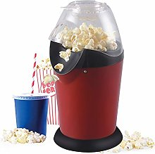 PUBJ Home Retro Popcorn Machine,Electric Hot Air