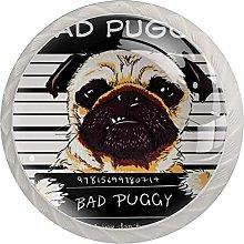 Pug Cabinet Door Knobs Handles Pulls Cupboard