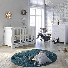 Puggle Little Acorns Sleigh Cot 4 Piece Nursery