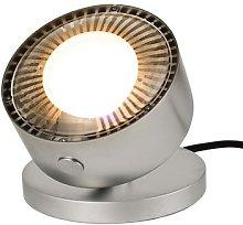 Puk Maxx Spot LED table spotlight, matt chrome