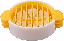 PULABO Premium Quality Plastic Boiled Egg Slicer