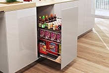 Pull Out Kitchen Basket Storage SELF/Soft Close