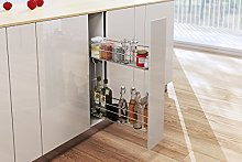 Pull Out Soft Close Wire Basket Kitchen Storage