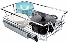 Pull Out Wire Basket, 350mm Kitchen Base Unit,