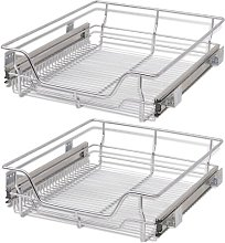 Pull-Out Wire Under Shelf Basket Symple Stuff