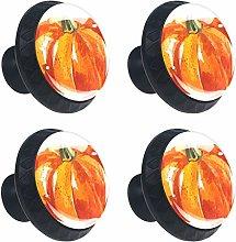 Pumpkin 4PCS Round Drawer Knob Pull Handle