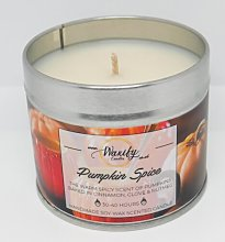 Pumpkin Spice Scented Jar Candle The Party Aisle