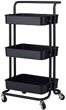 Pumpumly 3-Tier Home Kitchen Storage Utility cart