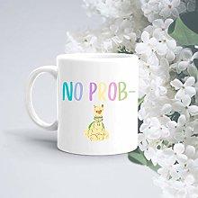 Pun Mug No Prob Llama Funny Mug Mugs Birthday Mug