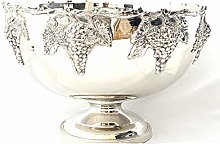 Punch Bowl Silver Plated Ice Bucket Champagne/Wine
