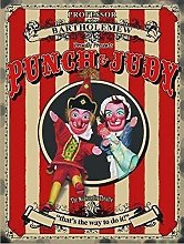 Punch & Judy. Marionette Theatre, beach tent,