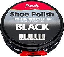 Punch Shoe Polish 40ml Black