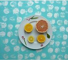 Punkte 100% Cotton Tablecloth Fleur De Soleil