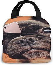 Puppy Bulldog French Love15 Portable Insulated