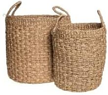 Pure by Pascalle - Full Woven Seagrass Basket Set