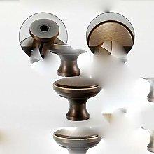Pure Copper Creative Shell Handle Wardrobe Cabinet